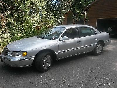 Lincoln : Continental Base Sedan 4-Door 2001 lincoln continental