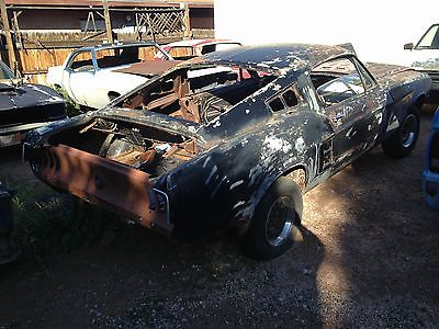 Ford : Mustang none 1967 ford mustang fastback s code body shell