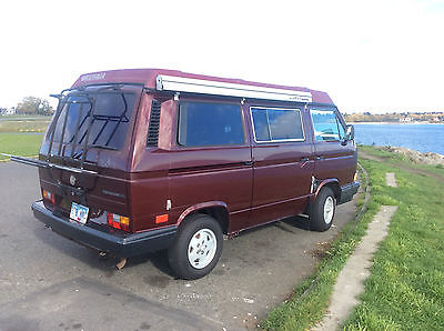 Volkswagen : Bus/Vanagon Westfalia 91 volkswagen westfalia 4 spd no rust original paint clean records since 91