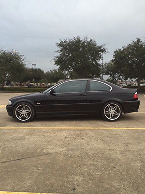 BMW : 3-Series Base Coupe 2-Door Rare MINT black on black low 58,000 miles 2002 BMW 330Ci Coupe 2-Door