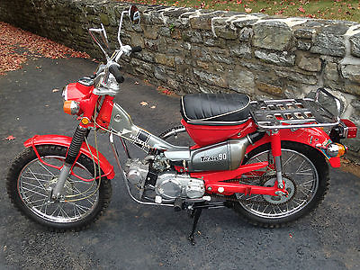 Honda : CT 1971 honda ct 90 trail motorcycle fully services ready to ride