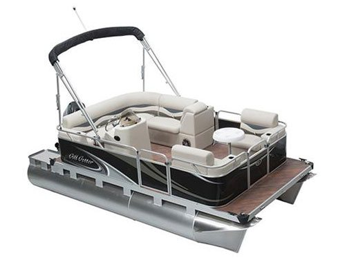 Gillgetter pontoons boats for sale for Pontoon boat without motor for sale