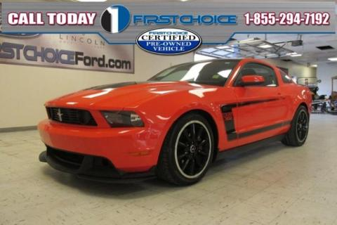 2012 Ford Mustang Boss 302 Rock Springs, WY