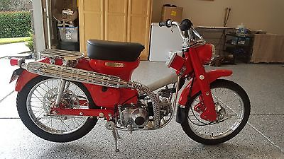 Honda : CT Honda CT90, KO 1966, 100% Restoration, Red, Immaculate
