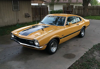 Ford : Other Maverick Grabber 1971 ford maverick grabber 302 v 8 4 speed manual transmission