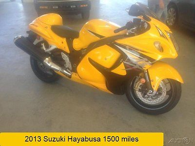 Suzuki : Hayabusa 2013 suzuki hayabusa 1340 limited edition motorcycle used 1500 miles no reserve