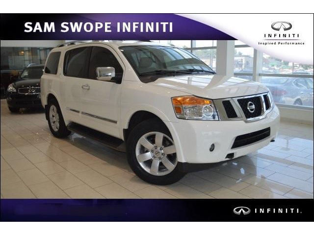 Nissan : Armada 2WD 4dr SV WELL MAINTAINED ARMADA~EXTRA CLEAN~ROOMY~LEATHER~HEATED SEATS~LOCALLY OWNED~