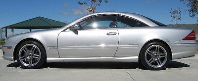 Mercedes-Benz : CL-Class CL 600 2002 mercedes benz cl 600 oem amg cl 65 wheels extras
