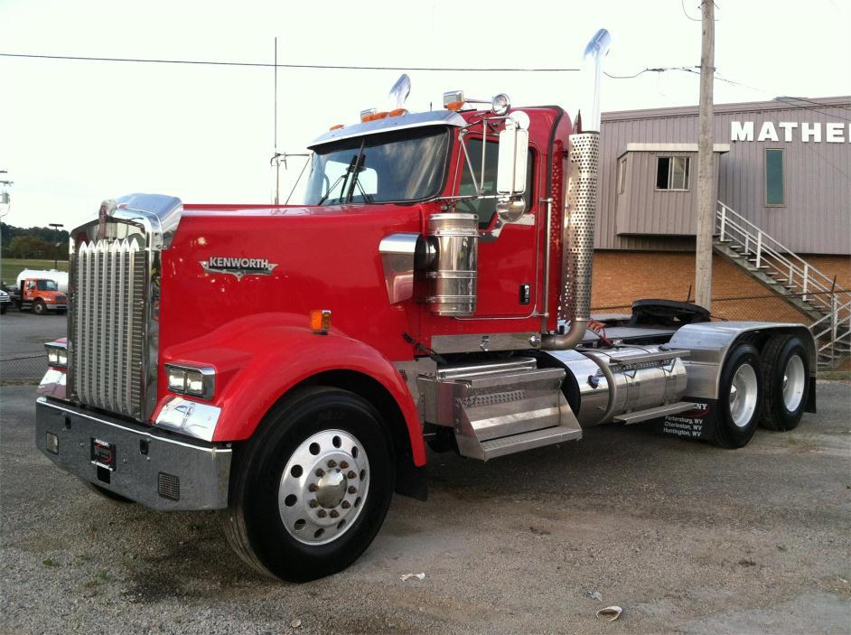 2013 Kenworth W900