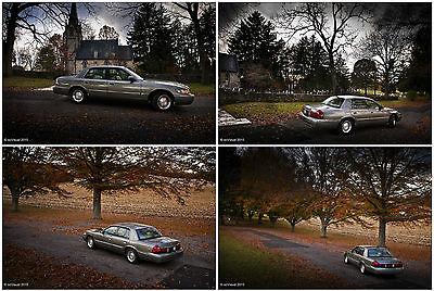 Mercury : Grand Marquis GS 4-door sedan 2002 mercury grand marquis gs sedan 4 door 4.6 l
