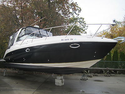 PROJECT BOAT: 2005 Rinker 320 Fiesta Vee-NO MOTORS, Freshwater Boat Since New!