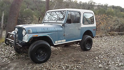 Jeep : CJ Renegade Nice old CJ, with hard top and only 94K original miles