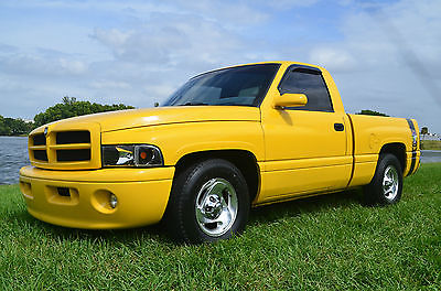Dodge : Ram 1500 SPORT 1999 dodge ram 1500 5.9 v 8 sport rumble bee clone custom florida truck 2 nd gen
