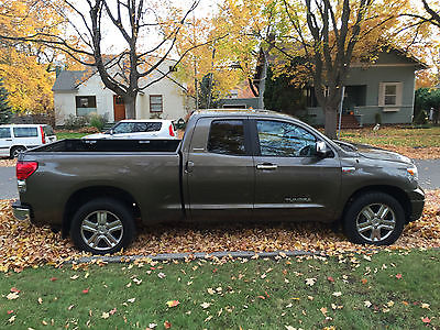 Toyota : Tundra  Limited Double-Cab 2007 toyota tundra limited double cab 5.7 l v 8