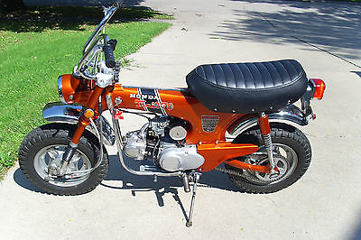 Honda : CT Honda  1970 CT 70 KO Trail 70 Orange Four Speed