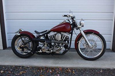 Harley-Davidson : Other 1978 harley davidson custom bobber new build clear title