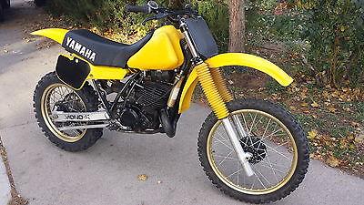 Yamaha : YZ 1983 yamaha yz 490