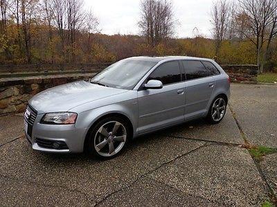 Audi : A3 TDI Hatchback 4-Door 2012 audi a 3 premium plus tdi hatchback 4 door silver black