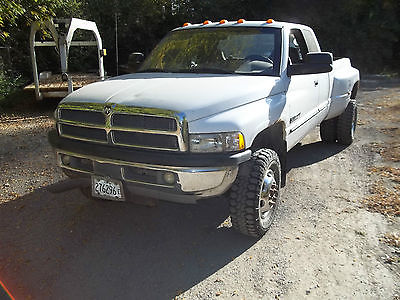 Dodge : Ram 3500 Base Extended Cab Pickup 4-Door 2002 dodge 3500 diesel extended cab dually 4 x 4