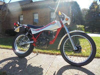 Honda : Other 1986 honda tlr 200 tlr 200 reflex trials low mile original survivor 726 miles