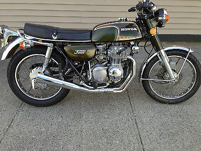 Honda : CB 1973 honda 350 four