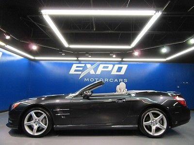 Mercedes-Benz : SL-Class SL550 Mercedes-Benz SL550 SPORT Premium1 Driver Assist Distronic Nav Cam $117kMSRP!