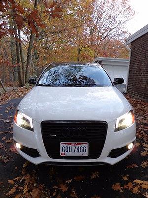 Audi : A3 Quattro Premium Plus 2013 audi a 3 premium plus 2.0 t quattro hatchback 4 door white black