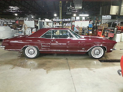 Buick : Riviera riviera 1963 buick riviera highly optioned