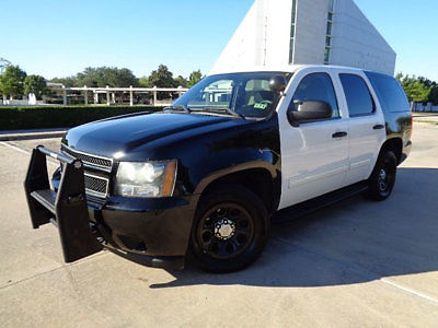 Chevrolet : Tahoe 2WD 4dr 1500 LS 10 police tahoe grille guard vinyl rear seat am fm cd dual pwr sts clean