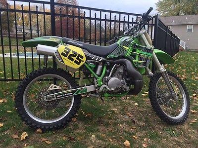 Kawasaki : KX 2001 kawasaki kx 500