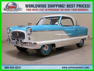 Other Makes : Metropolitan 2DR HARDTOP 1958 2 dr hardtop used manual