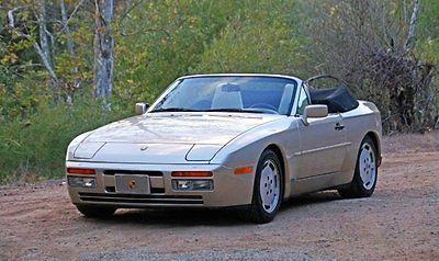 Porsche : 944 S2 Cabriolet 1990 porsche 944 s 2 12 k original miles 2 owners all original 5 speed immaculate