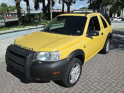 Land Rover : Freelander SE 2003 freelander se awd 69 k fla truck garaged low reserve excellent condition