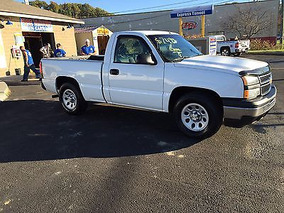 Chevrolet : Silverado 1500 Wt 2007 chevrolet silverado 1500 wt standard cab pickup 2 door 4.3 l