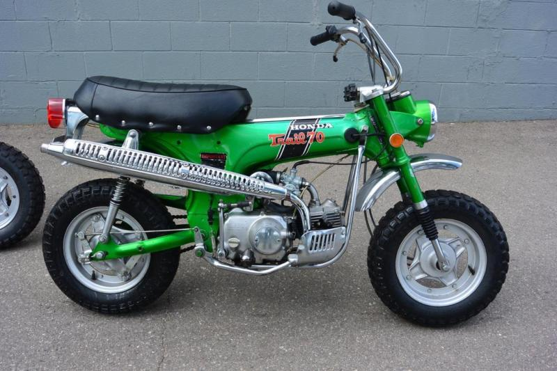 1970 Honda CT70 H Green