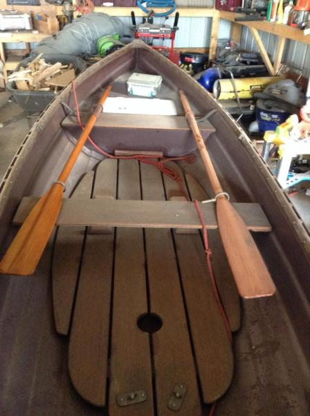 14 foot Whitehall row boat