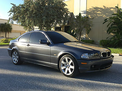 BMW : 3-Series SPORT COUPE 5 SPEED MANUAL 2002 bmw 325 ci coupe 5 spd manual florida car rebuilt not salvage 325 i e 46 save