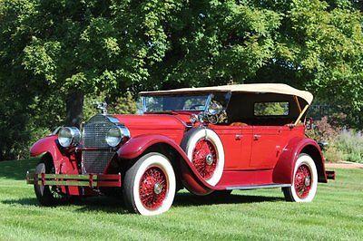 Packard : Phaeton 533 1928 packard phaeton 533