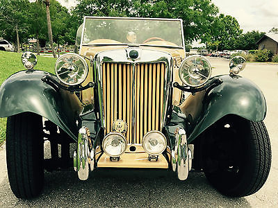 MG : Other Convertible 1956 mg roadster tribute convertible spectacular condition like mint