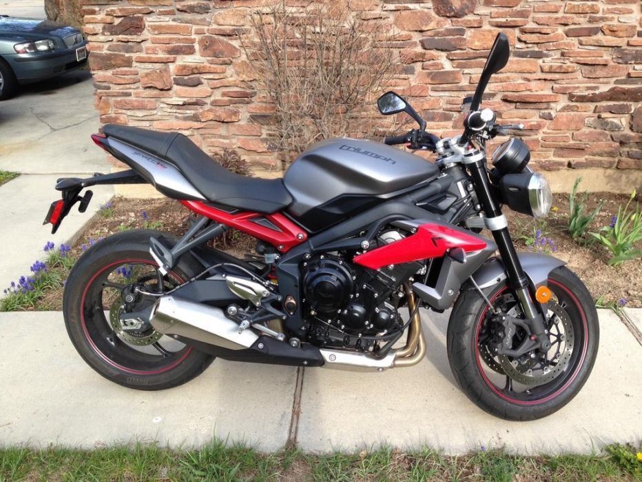 2014 triumph street triple r motorcycles for sale. Black Bedroom Furniture Sets. Home Design Ideas