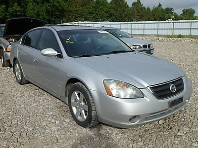 Nissan : Altima 2.5 SL 2002 nissan altima 2.5 sl used 2.5 l i 4 16 v manual front wheel drive sedan bose