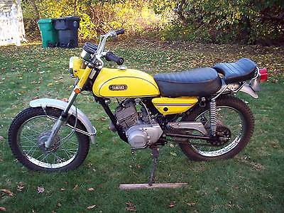 Yamaha Other 1970 At 1 125 Cc Vintage Enduro Ct Dt Rt Ht