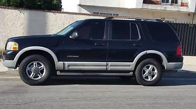 Ford : Explorer XLT Sport Utility 4-Door 2002 ford explorer xlt sport utility 4 door 4.0 l leather sunroof 3 rd row 4 x 4