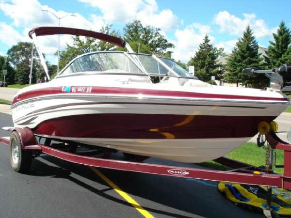 2008  Tahoe Boats  Q5i SF