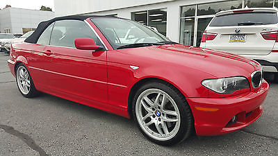 BMW : 3-Series 330Ci 2005 330 ci convertible black top rwd 6 speed manual heated front seat navigation