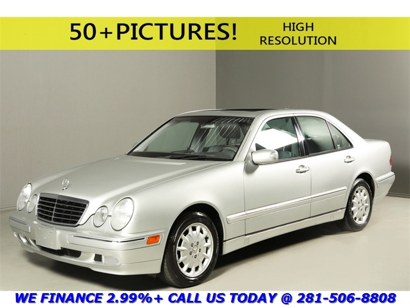 Mercedes-Benz : E-Class 2000 E320 SEDAN SUNROOF LEATHER 67K LOW MILES WOOD 2000 mercedes benz e 320 sedan sunroof leather 67 k low miles wood clean