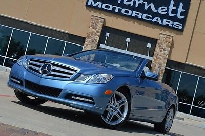 Mercedes-Benz : E-Class E350 CONVERTIBLE SPORT 2012 mercedes e 350 sport convertible must see car loaded w options