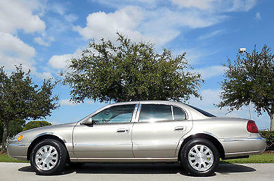 Lincoln : Continental FLORIDA 1 OWNER CARFAX CERTIFIED GEM PREMIUM WHITE SEDAN~SUNROOF~RECORDS~MICHELINS~41,322 Miles~ELEGANT LINCOLN!