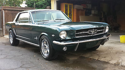 Ford : Mustang 2 door coupe 1965 ford mustang rust free ca car new 347 stroker