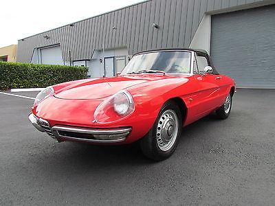 Alfa Romeo : Other Spider Convertible 2-Door 1967 alfa romeo duetto 1600 spider convertible 2 door 1.6 l